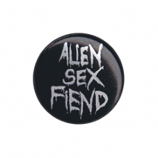 Metal ASF Silver Logo Badge